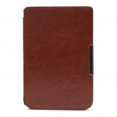 Чехол-обложка  для PocketBook 626/625/615/614 коричневая