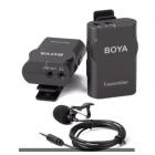 Микрофон беспроводной петличка Boya BY-WM4