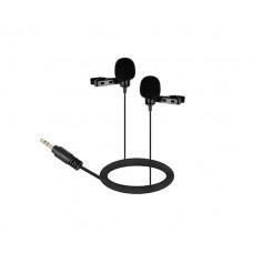 Микрофон двойной петличный Boya BY-LM300