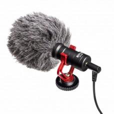 Микрофон монофонический двухканальный   Boya BY-MM1