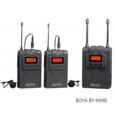 Микрофон беспроводной петличка Boya BY-WM8