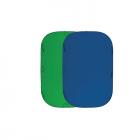 Fujimi FJ 706GB-180/210 Складной фон хромакей 180х210см синий/зелёный