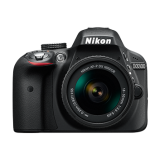 Nikon D3300 Kit AF-P 18-55mm VR Black