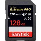 SanDisk Extreme Pro SDXC UHS-I U3 V30 (170/90 MB/s) 128Gb