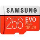 Samsung EVO Plus 100 Mb/s microSDXC UHS-I U3 256gb