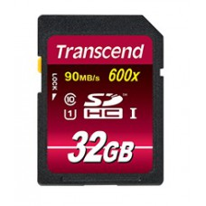 Transcend SDHC Class 10 UHS-I 600x (Ultimate) 32Gb