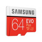 Samsung microSDXC EVO Plus 64Gb 100MB/s + SD adapter