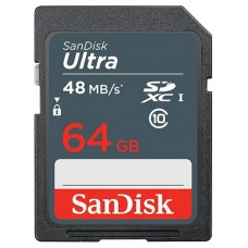 SanDisk Ultra SDHC Class 10 UHS-I 48MB/s 64GB