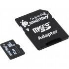 SmartBuy microSDHC Class 10 32GB(SB32GBSDCL10-01)+SD адаптер